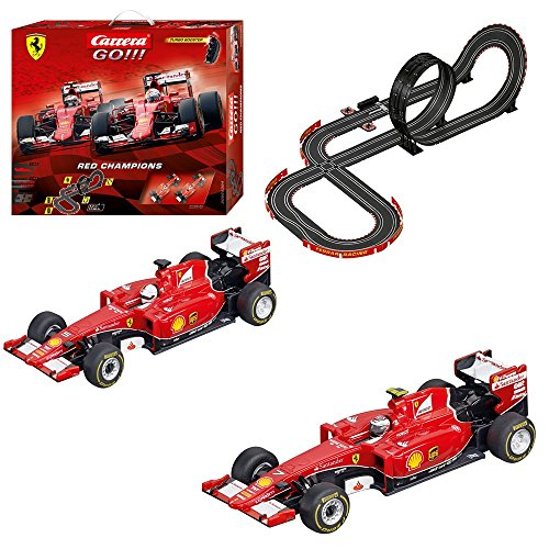 Carrera-GO-Red-Champions-Slot-Car-Set-143-Scale