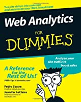 Web Analytics For Dummies Front Cover