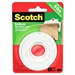 Scotch Mounting Tape, 12.7 mm X 1.9 m...
