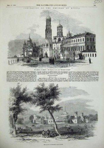 Der Krönung Russland-Kaiser-Kreml-Palast 1856 Iwan Bell