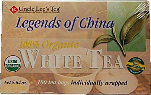 Uncle Lee'S Tea Tea Legend Of China White 100 Bags ( 8-Pack)