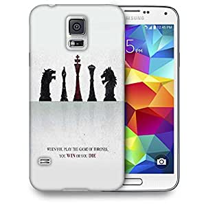 Snoogg Amazing Chess Quote Printed Protective Phone Back Case Cover For Samsung S5 / S IIIII