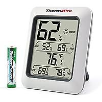 ThermoPro TP50 Digital Hygrometer Humidity Monitor