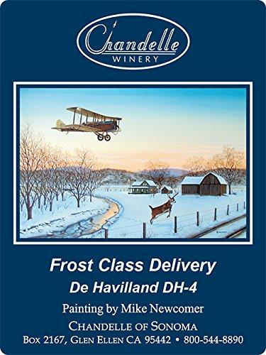 "2008 Chandelle Sonoma County Cabernet Sauvignon ""Frost Class Delivery"" Special Art Label Edition 750 Ml"