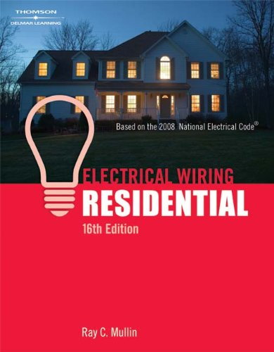 Electrical Wiring Residential - Soft-cover - 16th Edition - Cengage Learning - DE-1418050954 - ISBN: 1418050954 - ISBN-13: 9781418050955