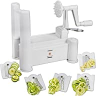 Brieftons 5-Blade Spiralizer: Vegetab…
