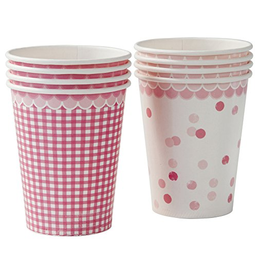 TALKING TABLES PINK N' MIX 2 Designs Cups