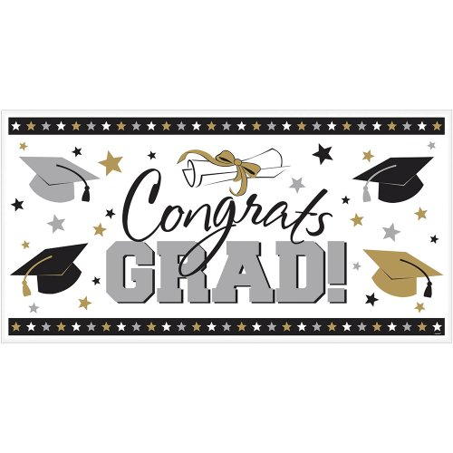 Learn More About Key to Success Large Congratulations Sign - Graduation Party Supplies