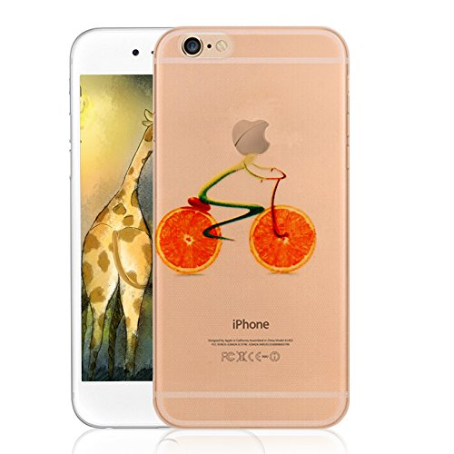 Neverland Creative Design iPhone 6 cas, iPhone 6s Case silicone clair de couverture pour 4,7 pouces iPhone 6 / iPhone 6s