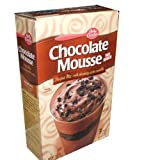 Betty Crocker Chocolate Mousse No Bake Parfait Mix with Chocolatey Cookie Crumbles 25.6 Ounce Value Box