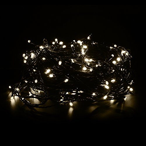 yygift waterproof 200 led party string lights low voltage. Black Bedroom Furniture Sets. Home Design Ideas