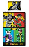 Lego Batman 'Cards' Single Panel Duvet Cover Picture