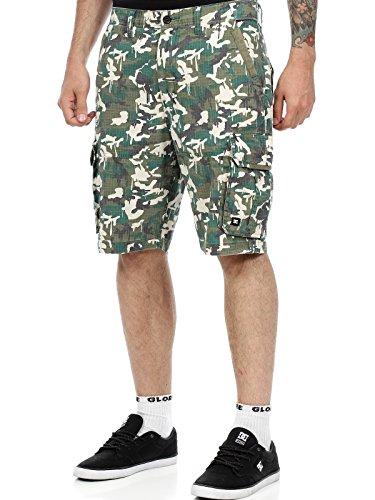 pantaloni-corti-con-tasconi-dc-westinghouse-military-print-28-vita-eu-42-nero