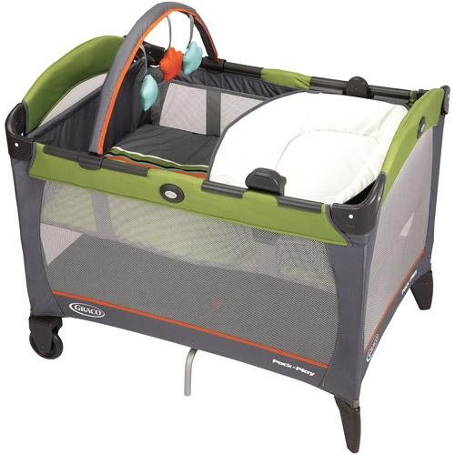 Graco Reversible Napper And Changer Pack 'N Play Playard, Gecko front-918840