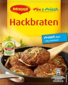 Maggi Hackbraten Meat Loaf Mix, 3.11-Ounce