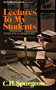 "Cover of ""Lectures to My Students"""