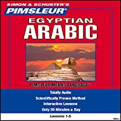 Arabic (Egyptian): Lessons 1 to 5: Learn to Speak and Understand Arabic | [ Pimsleur]