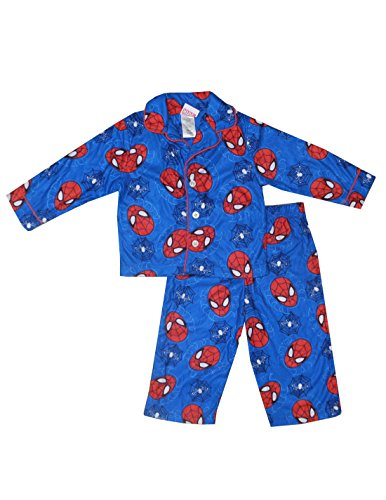 2-PCS-SET-Marvel-Comics-Spiderman-bambin-Pajama-Top-Pants-Set