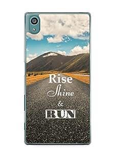 YuBingo Rise, Shine & Run Mobile Case Back Cover for Sony Xperia Z5