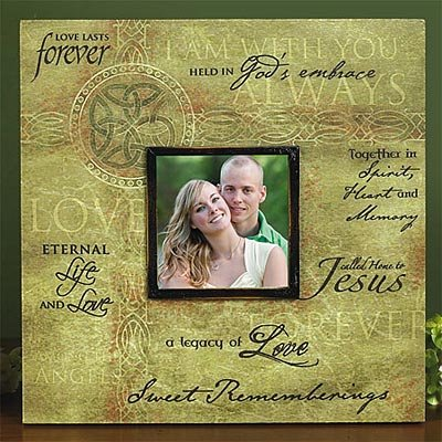 Irish Memorial Canvas Photo Frame (memorial plaques)