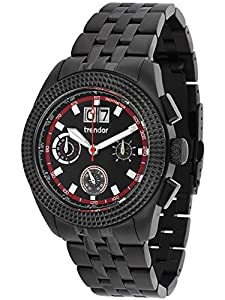 trendor 7636-04 Chronograph Big Date Mens Watch
