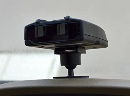 Mounting radar detector