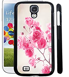 ColourCraft Beautiful Flowers Design Back Case Cover for SAMSUNG GALAXY S4 I9500 / I9505