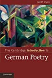 The Cambridge Introduction to German Poetry (Cambridge Introductions to Literature)