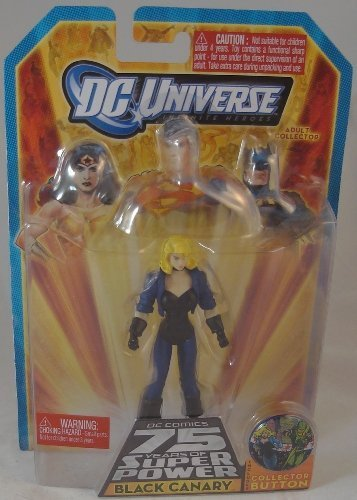DC Universe Infinite Heroes 75 Years of Super Power: Black Canary Action Figure - 1