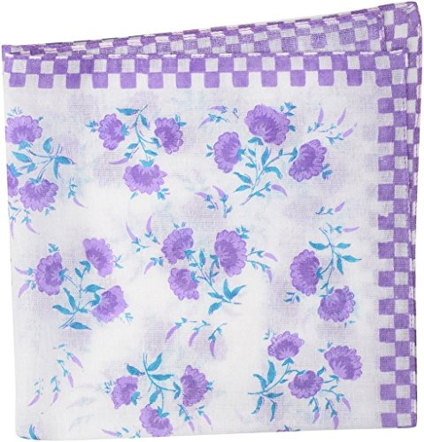 Zacharias Floral handkerchief For Women pack of 3  available at amazon for Rs.99