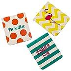Paradise Magnetic Bookmarks - Set of 3