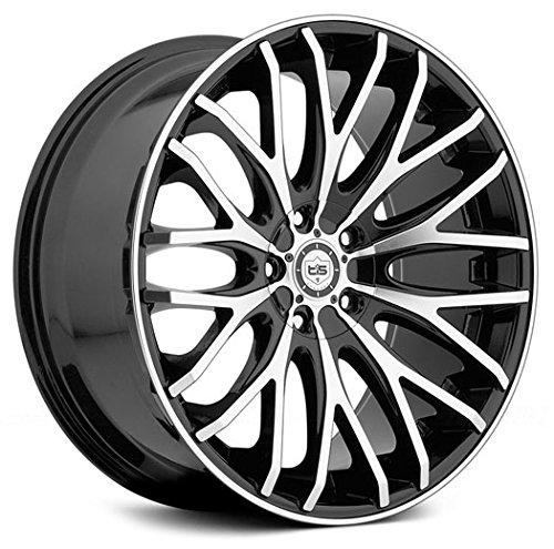 TIS 20x8.5 Gloss Black 537MB Wheels 5x112 & 5x114.3 +40 Offset (Tis Wheels 537 compare prices)