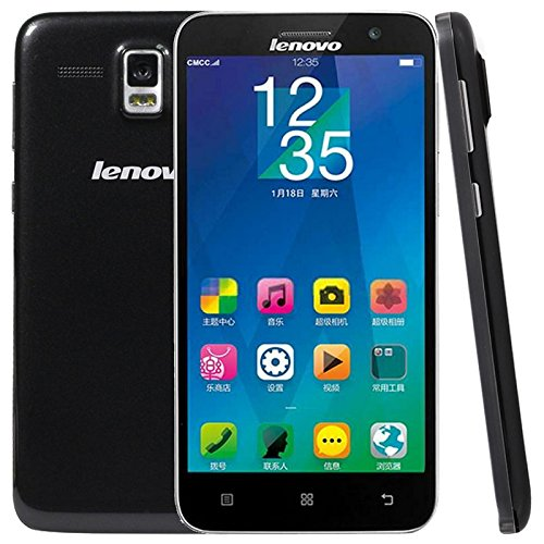 Original 4G Unlocked Lenovo A8 / A806 5.0 Inch IPS Screen Android 4.4 Smart Phone MTK6592 + MTK6290 Octa Core 1.7GHz RAM 2GB ROM 16GB FDD-LTE WCDMA GSM (Black Standard)