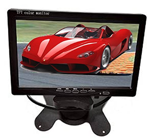 "Best Deals! Auto Safety 7"" LED Backlight TFT LCD Monitor for Car Rearview Cameras, Car DVD, Ser..."