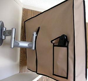 original waterproof outdoor tv cover swing arm. Black Bedroom Furniture Sets. Home Design Ideas