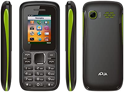 Aqua Neo - 1600 mAh Battery, Dual SIM [Black+Lemon]