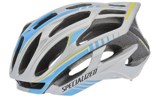 Specialized S-works Prevail Road/racing Bike Helmet - Chrome/blue - Large