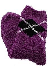 Charter Club Womens Fleece Stretch Slipper Socks