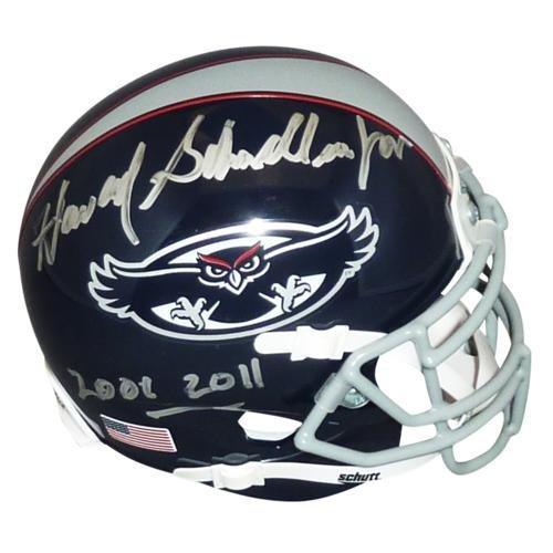 howard-schnellenberger-autographed-florida-atlantic-fau-owls-2013-mini-helmet-w-2001-2011