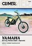 Clymer Repair Manual for Yamaha 80 175 Enduro MX 68 76
