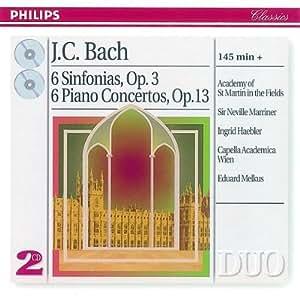 Duo - Johann Christian Bach (Klavierkonzerte und Sinfonien)