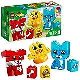 LEGO Duplo 10858 - Meine ersten Tiere, Farben lernen, Steine für Kleinkinder - LEGO