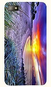 Marvelous multicolor printed protective REBEL mobile back cover for Blackberry Z10 D.No.N-L-10932-BBZ10