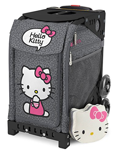 ZCA-Sport-Hello-Kitty-Leopard-Rolling-Bag
