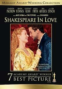 Shakespeare in Love [DVD] [Region 1] [US Import] [NTSC]