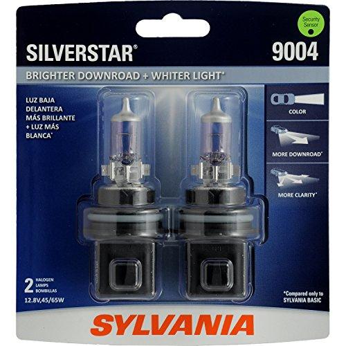 SYLVANIA 9004 SilverStar High Performance Halogen Headlight Bulb, (Contains 2 Bulbs) (1995 Geo Tracker Headlights compare prices)
