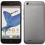 ZTE [LTE対応]SIMフリー Android 5.0スマートフォン 「ZTE Blade V6」5.0型(ROM 16GB・RAM 2GB) グレー BLADEV6/GRAY