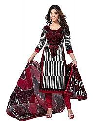RockChin Fashions Cotton Printed Unstitched Salwar Suit Dupatta Material