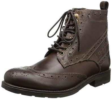 Bugatti Men's F10331 Boots Brown Dark Brown Size: 10.5