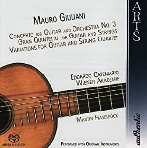 Concerto For Guitar And Orchestra N°3